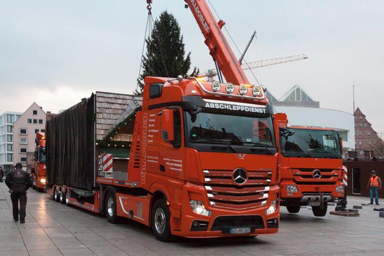 Camiones con grúa en Barakaldo
