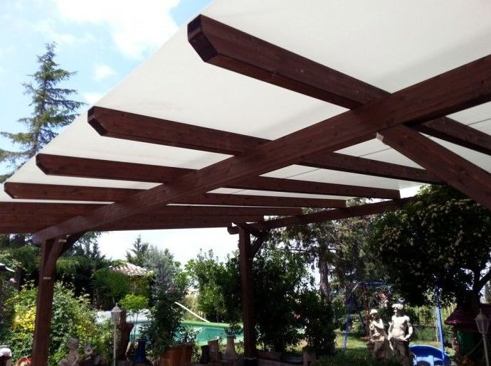 Pérgolas de madera en Granada