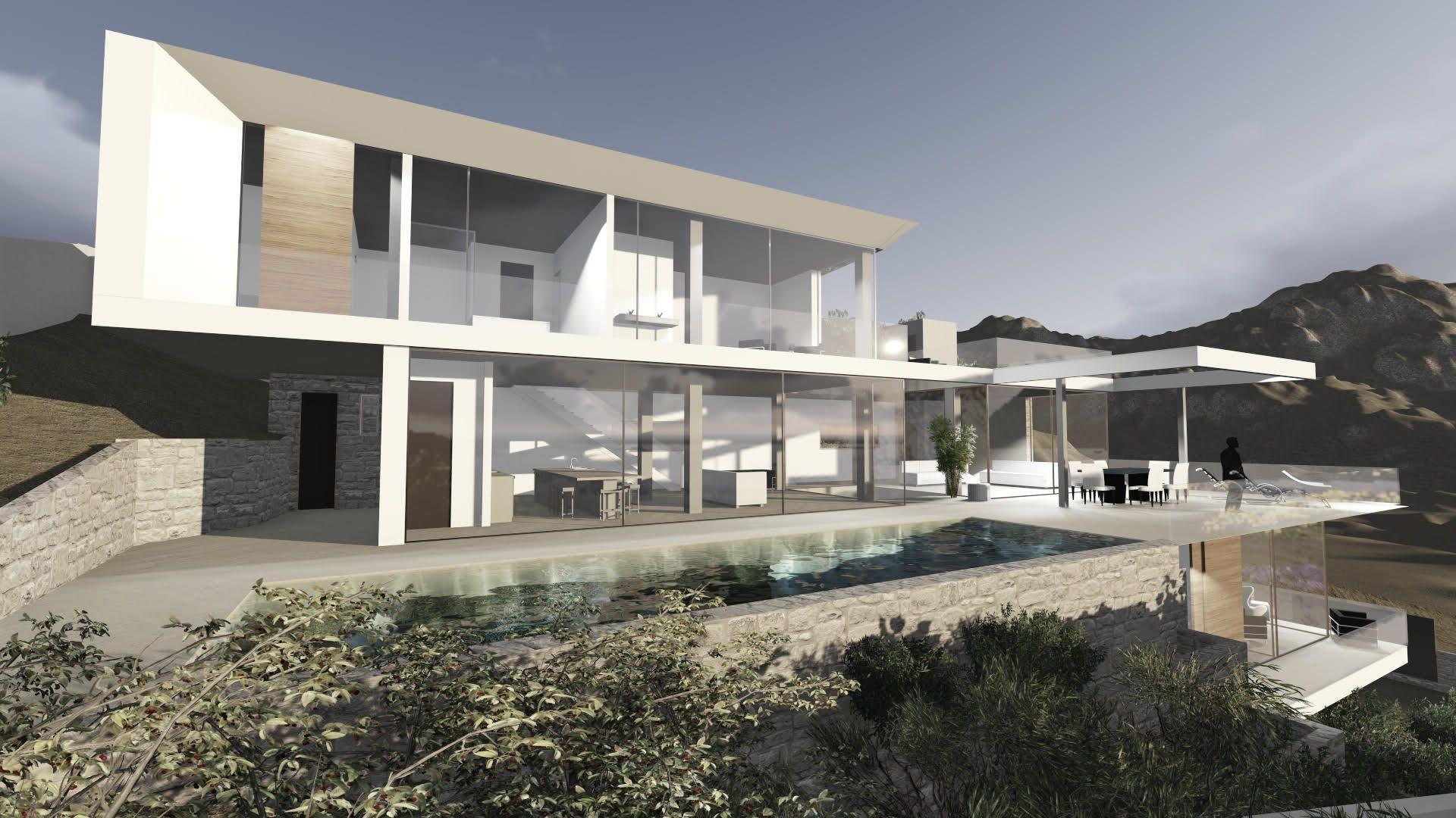 Obra nueva residencial en Ibiza