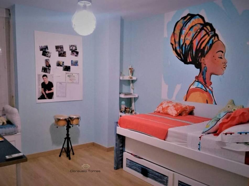 Ampliación dormitorio juvenil