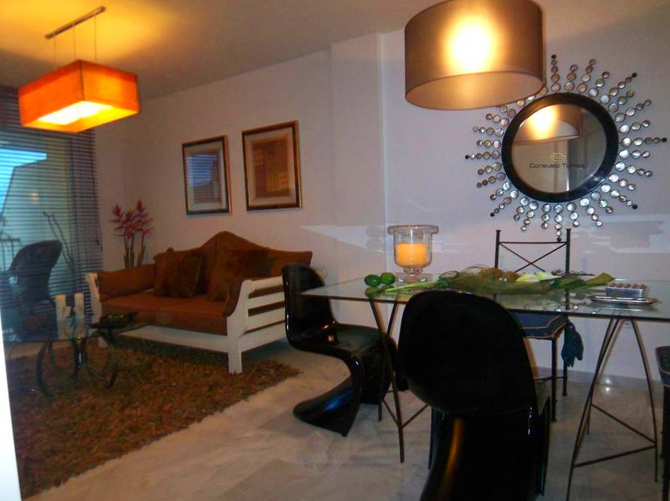 Proyecto de interiorismo de salón comedor y equipamiento completo