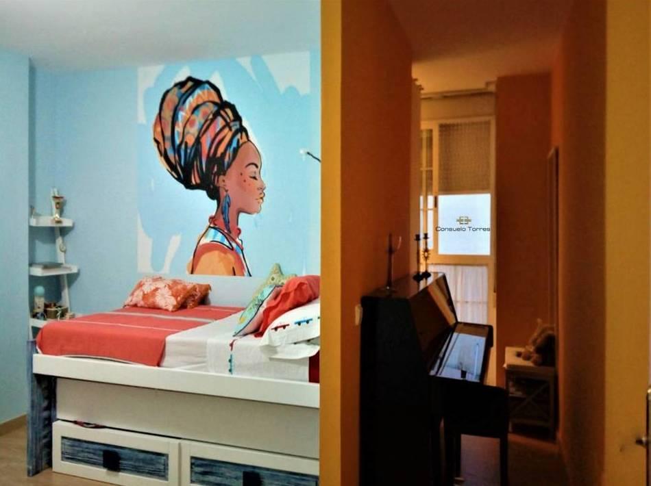 Dormitorio juvenil. Espacio multifuncional