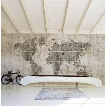 Murales en papel pintado a medida