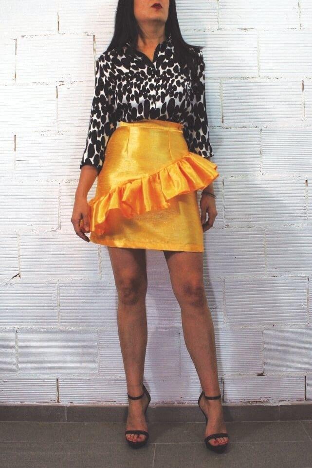 Faldas: Catálogo de Moda entre Bastidores