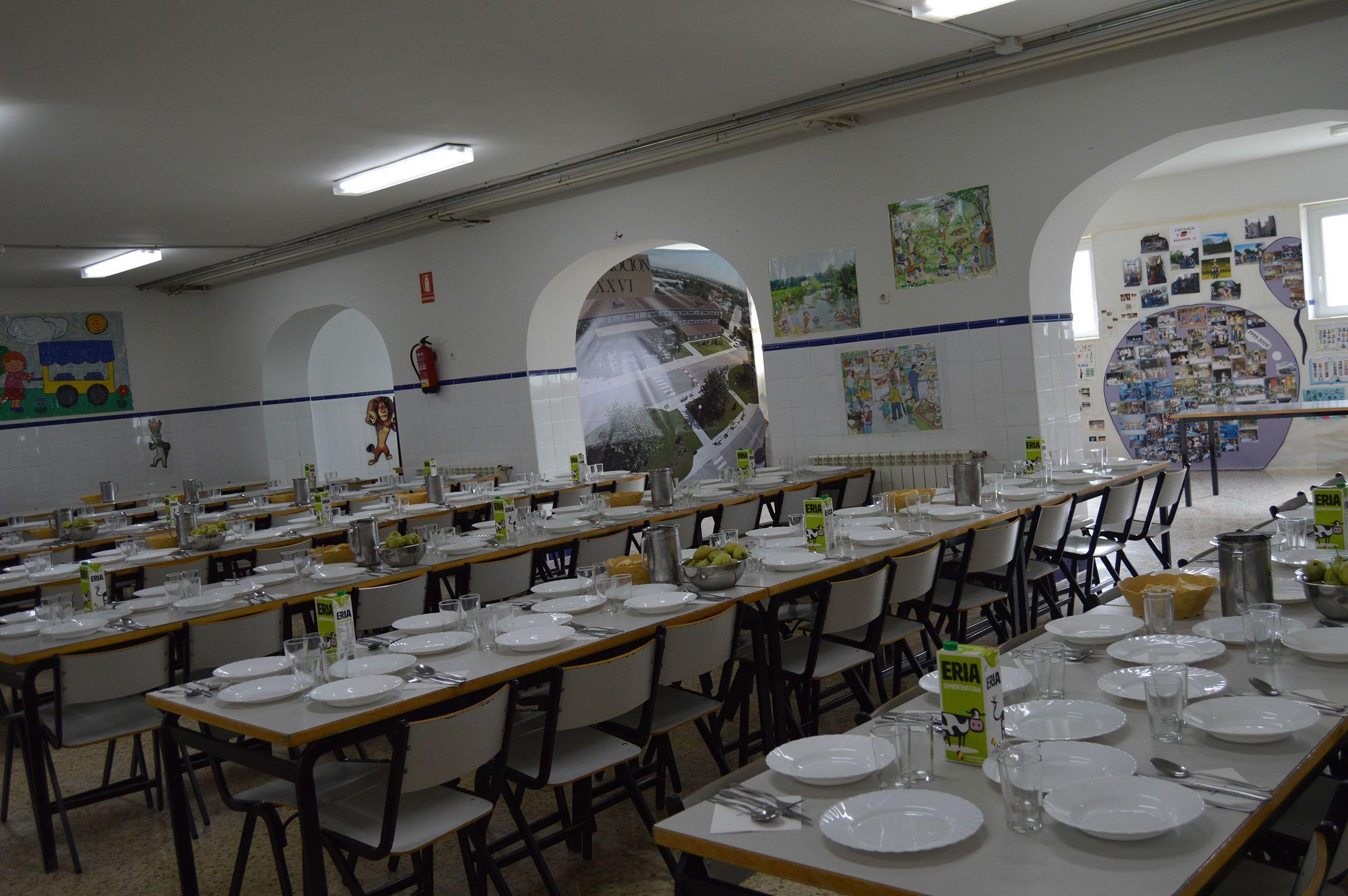 Comedor escolar con cocina propia: Proyecto educativo de Colegio ...