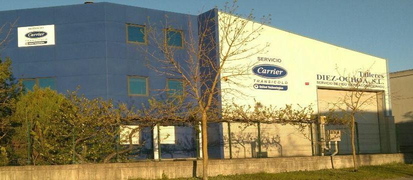 Foto 1 de Taller mecánico de camiones frigorificos en Vitoria | Talleres Díez-Ochoa