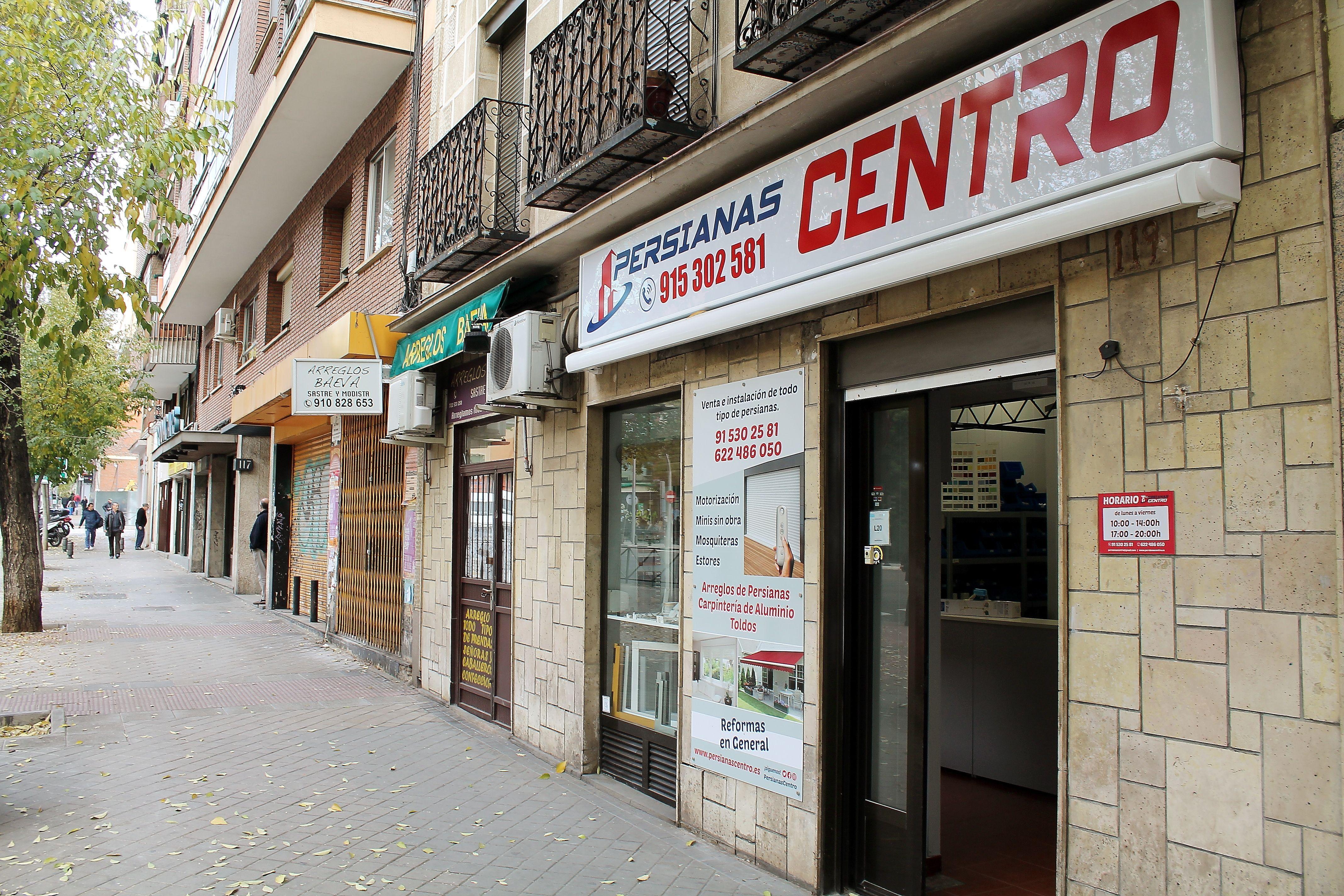 Reparación e instalación de persianas en Madrid centro