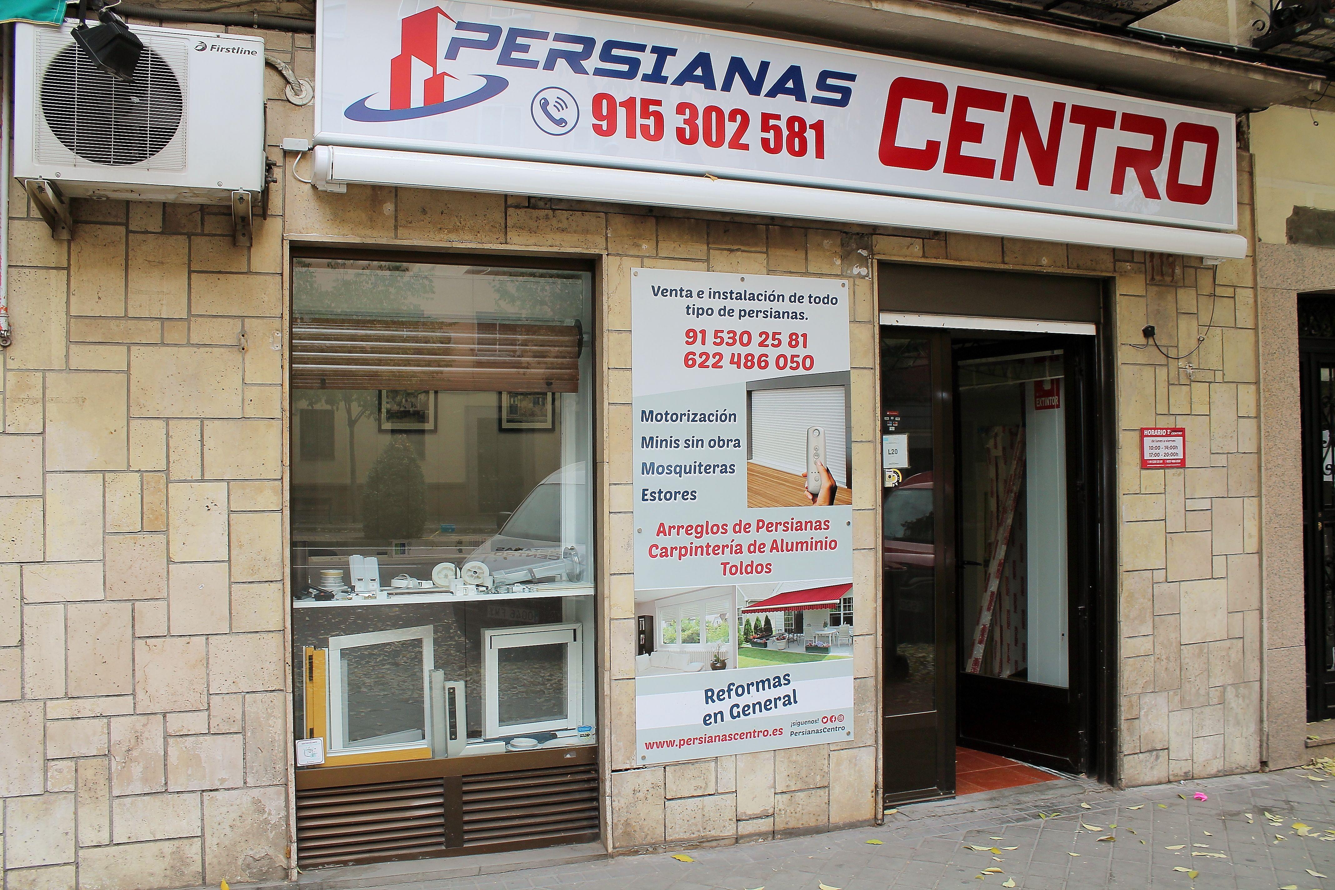 Persianas baratas en Madrid centro