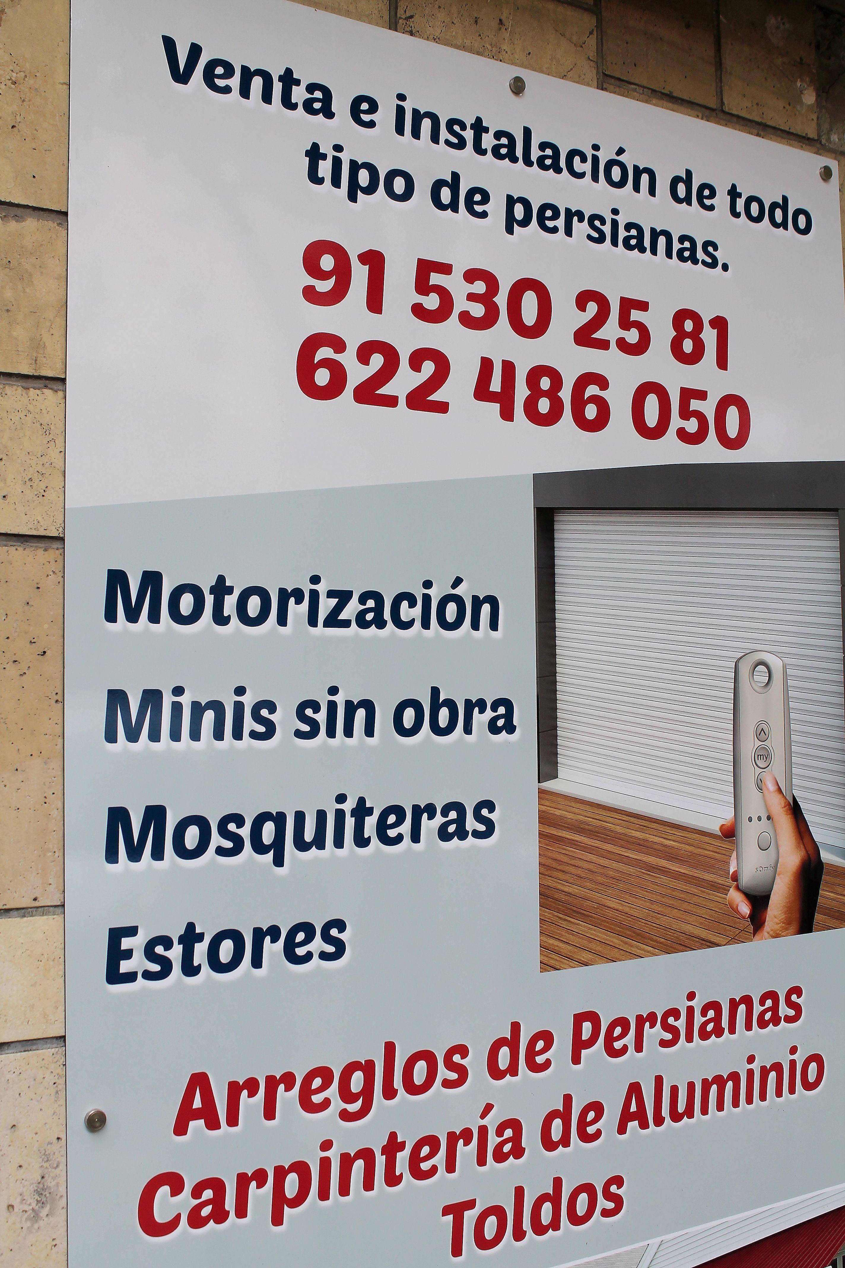 Motorización de persianas en Embajadores, Madrid