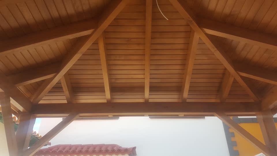Estructuras techos madera San Cristóbal de La Laguna