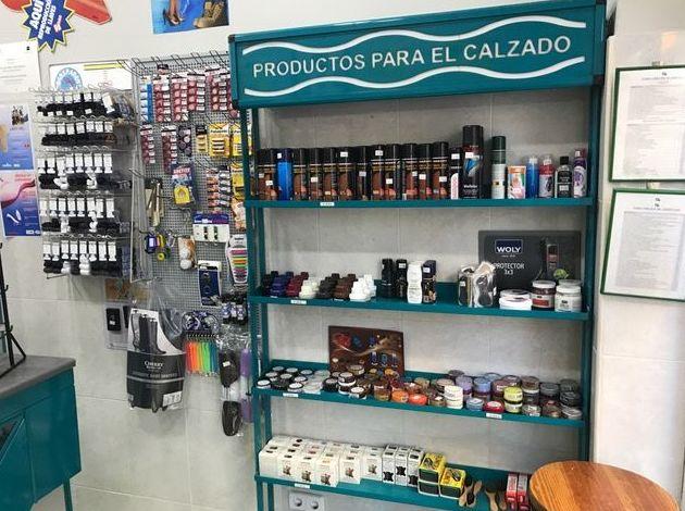 Venta de productos para el calzado - Tienda calle Padilla, 60
