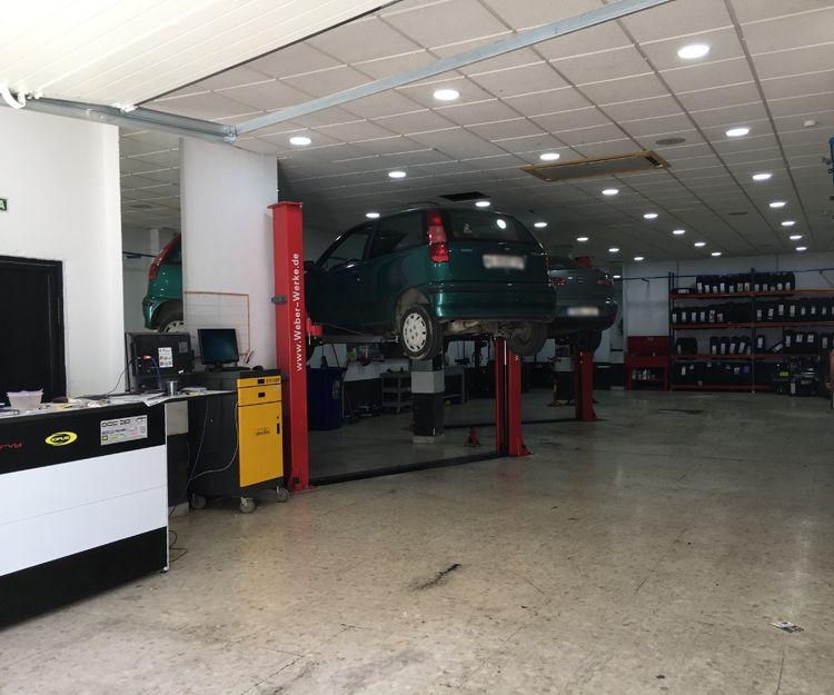 Taller de mecánica general en Puerto Real