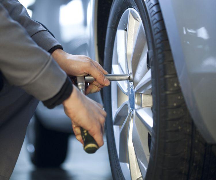 Cambio de neumáticos en Puerto Real
