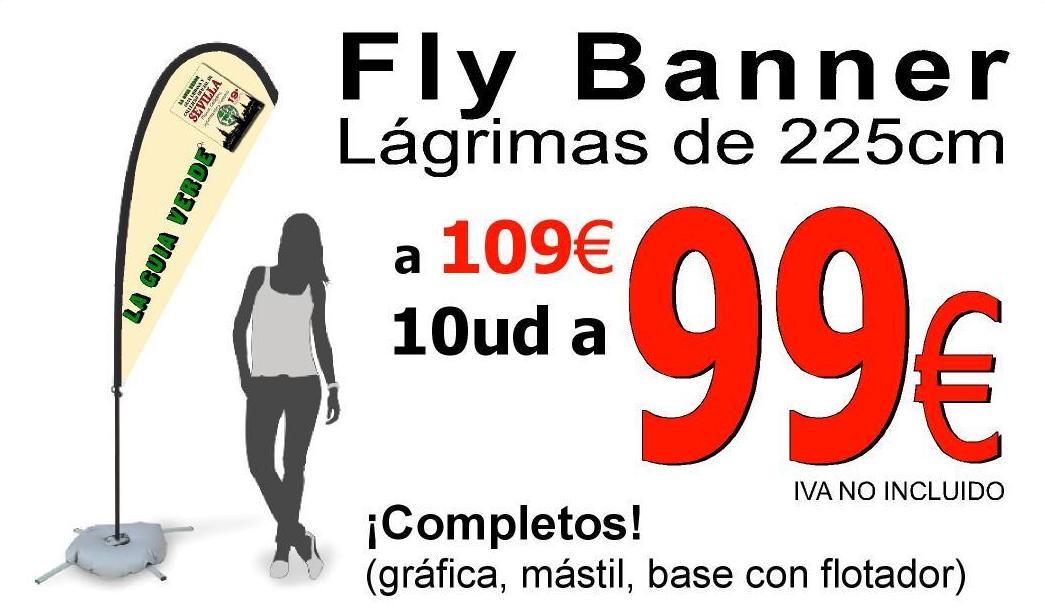 Fly Banner lagrima