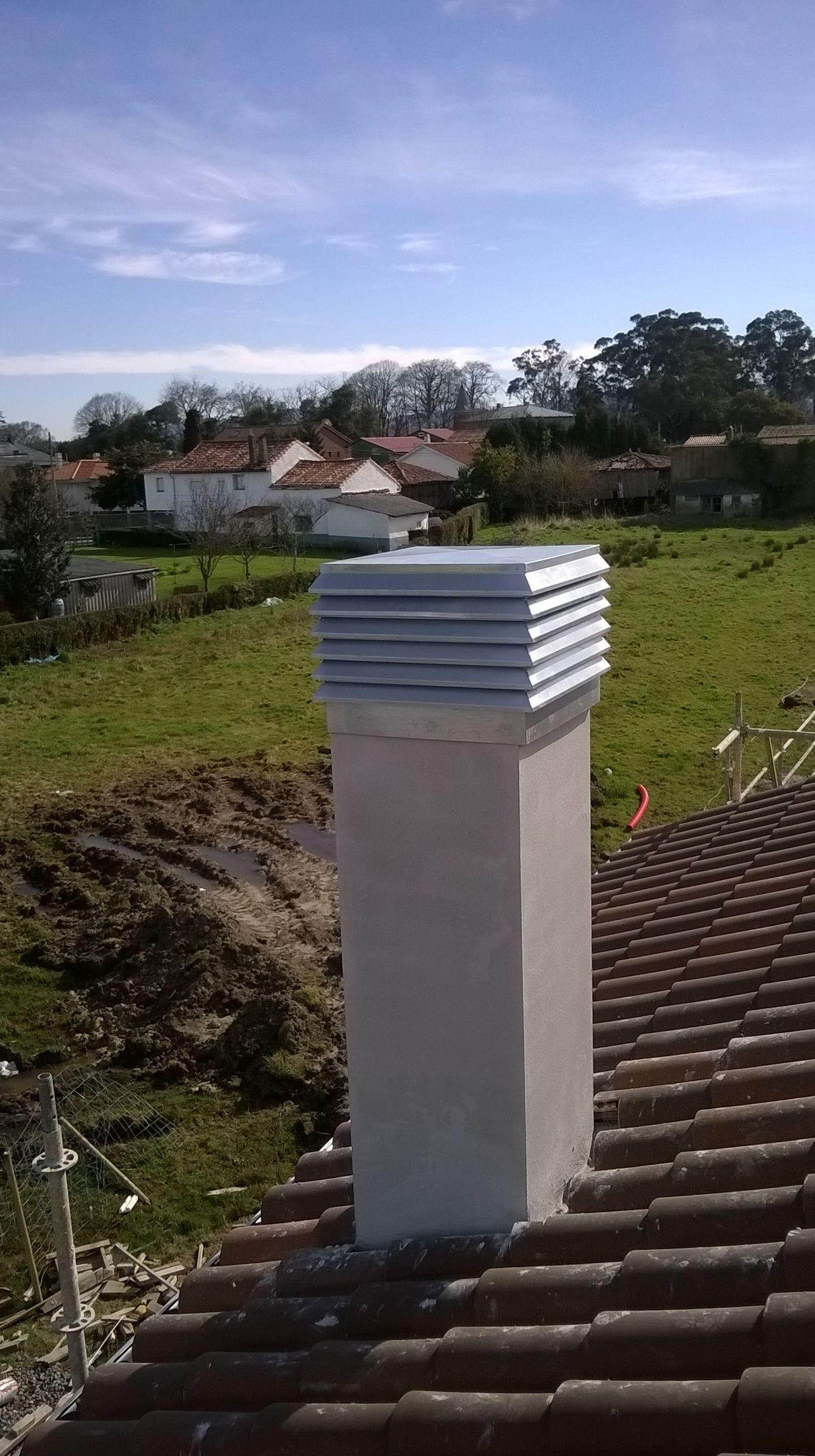 Terminación de chimeneas en Asturias