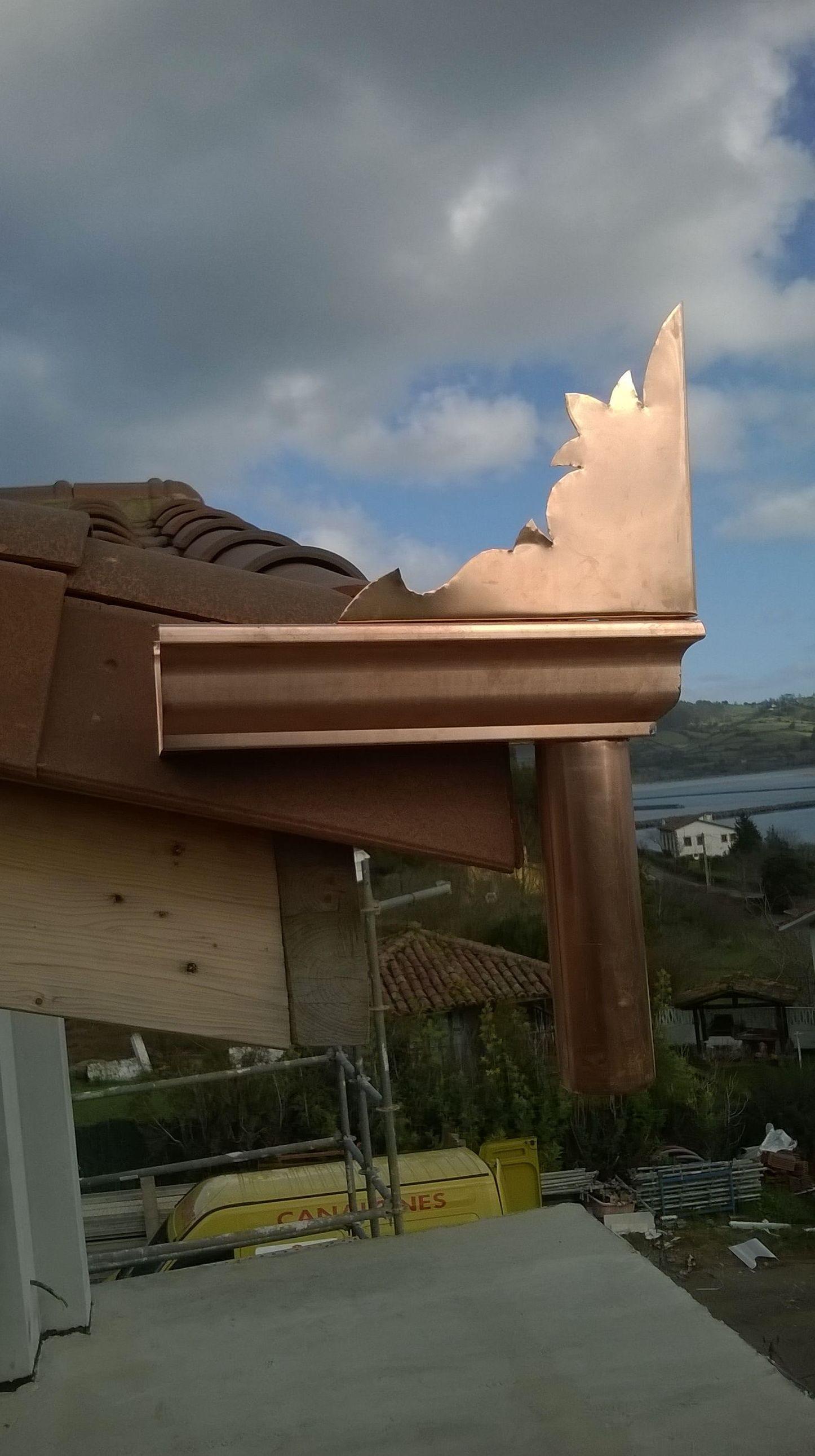 Canalones de aluminio en Asturias
