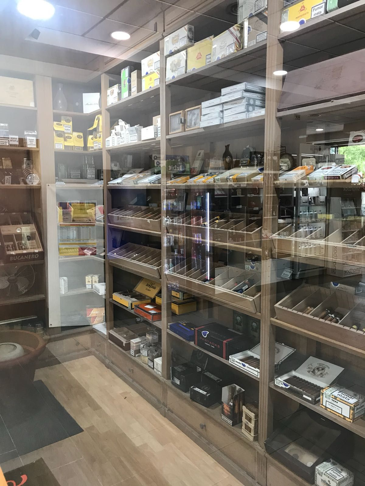 Cava de puros el Leganés