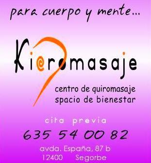 Kieromasaje: Tratamientos de Kieromasaje