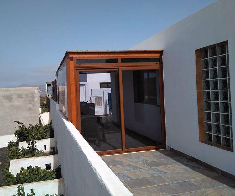 Cerramientos de terrazas en Lanzarote