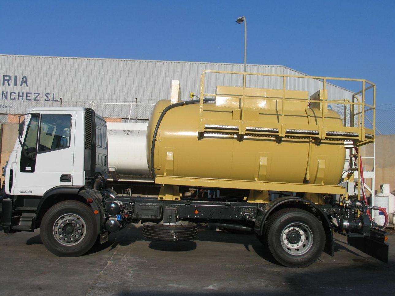 Cisternas para camiones en Alicante