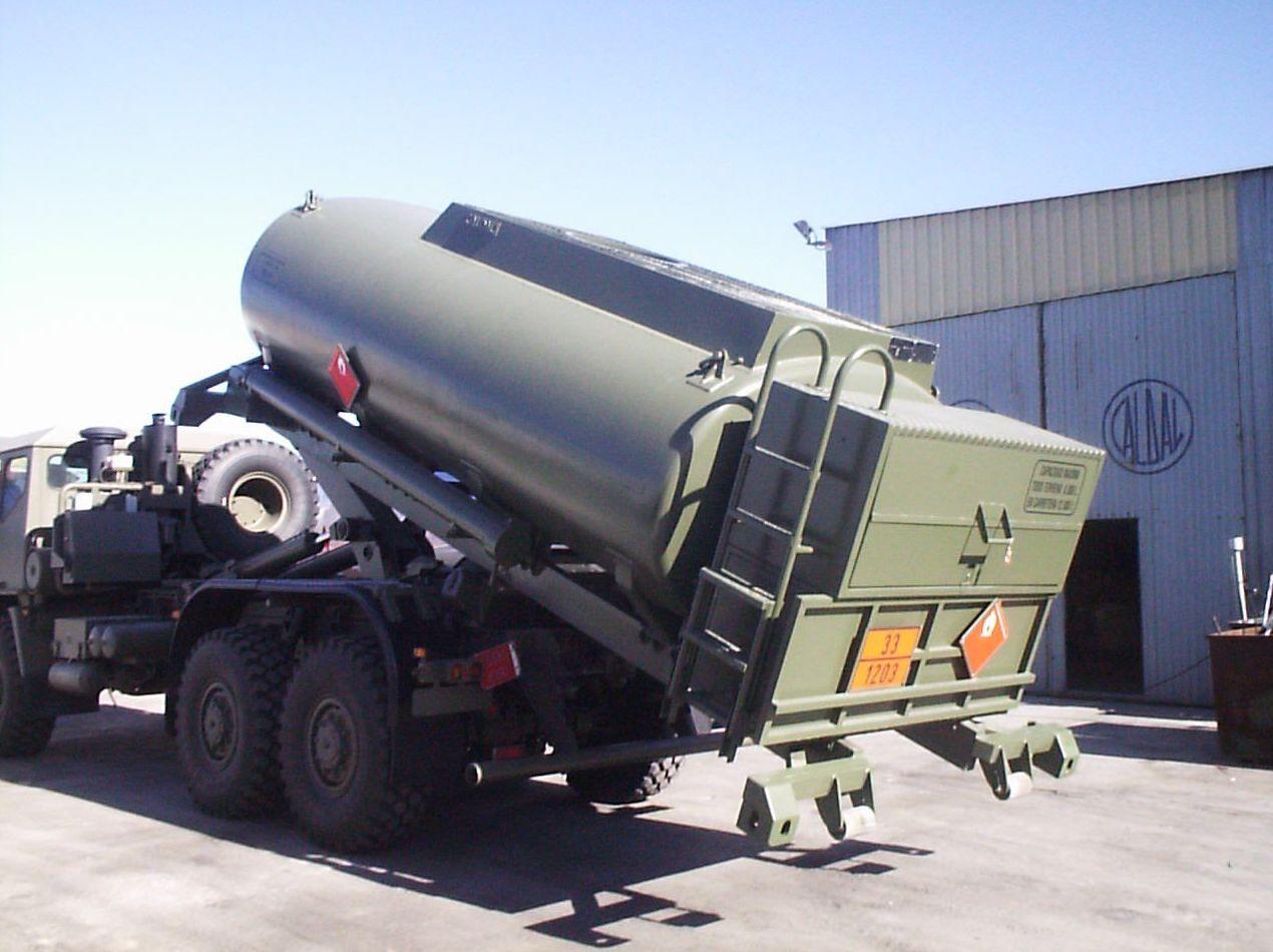 Unidades repostadoras de aluminio para la aviación
