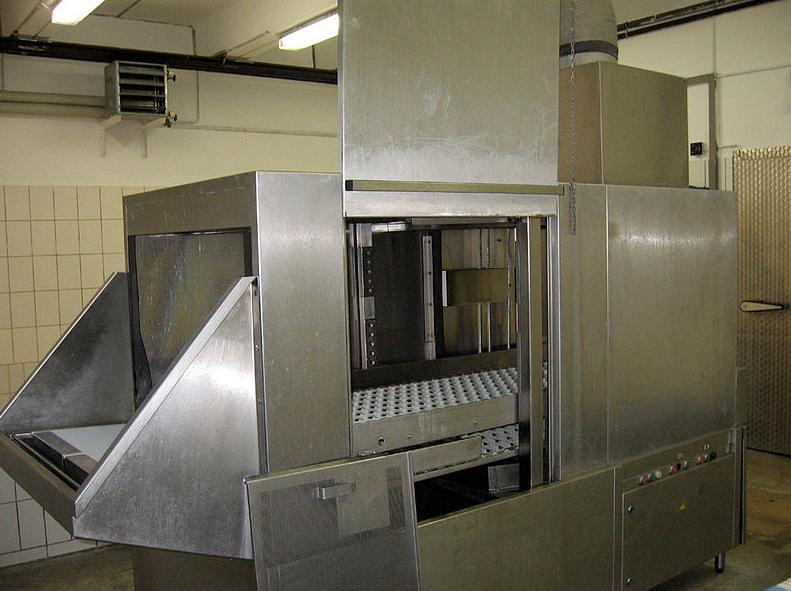 Maquinaria industrial de acero inoxidable