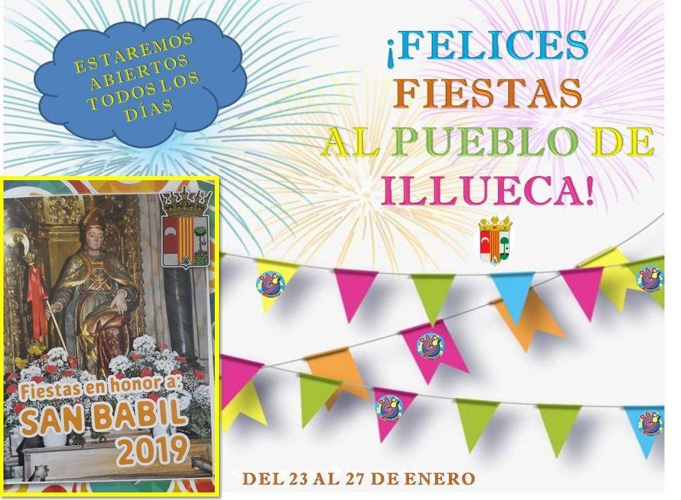 Fiestas en honor a San Babil 2019!