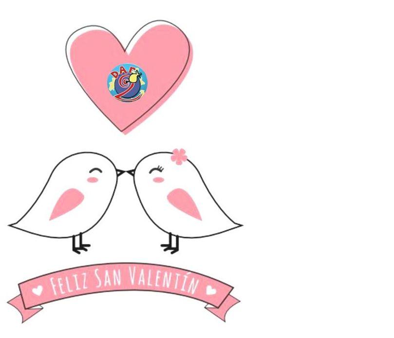 Hoy se respira amor!Feliz San Valentin!