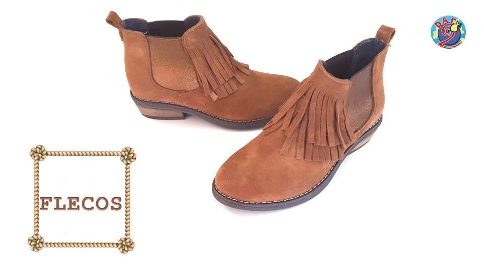 Zapatos Dar2 Illueca. Modelo flecos
