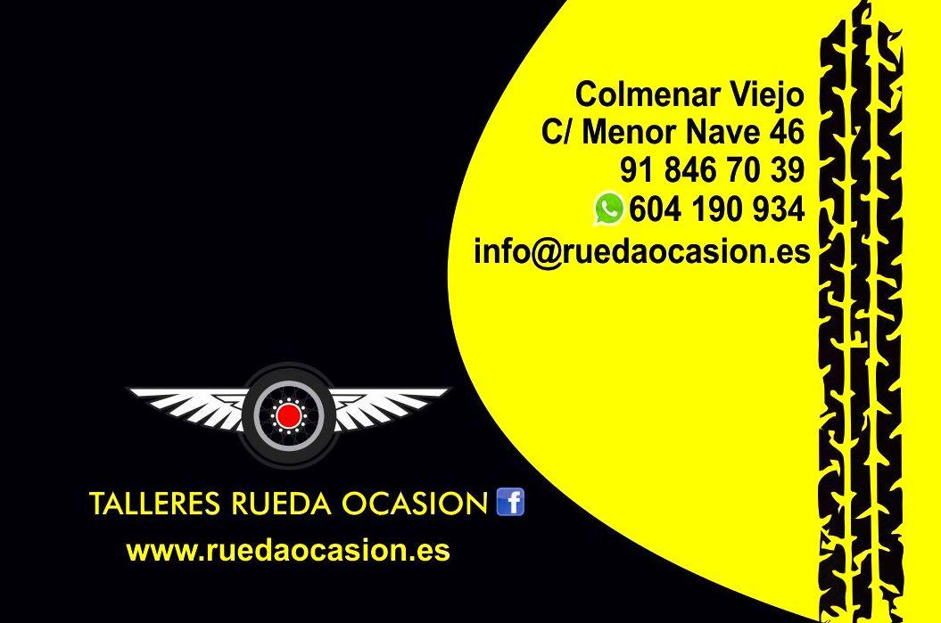 Taller mecánico de referencia en Colmenar Viejo - Rueda Ocasión