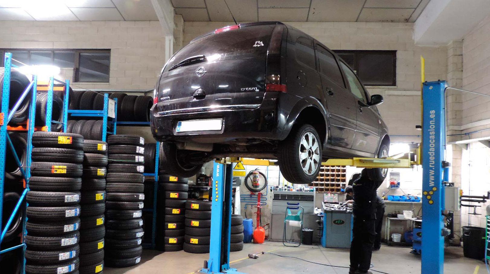 Cambio de neumáticos baratos en Colmenar Viejo - Taller Rueda Ocasión