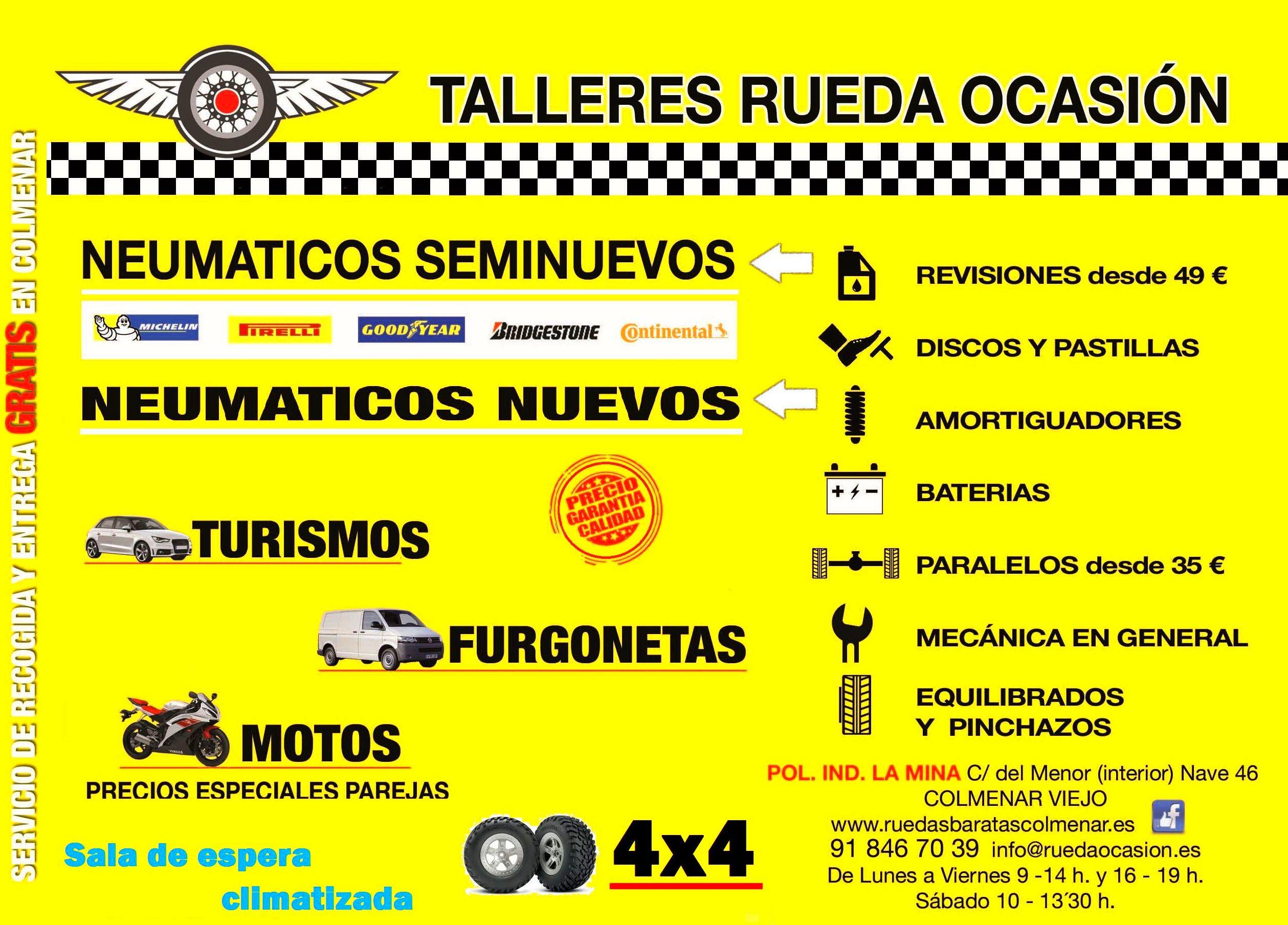 Foto 10 de Neumáticos en Colmenar Viejo | Rueda Ocasión