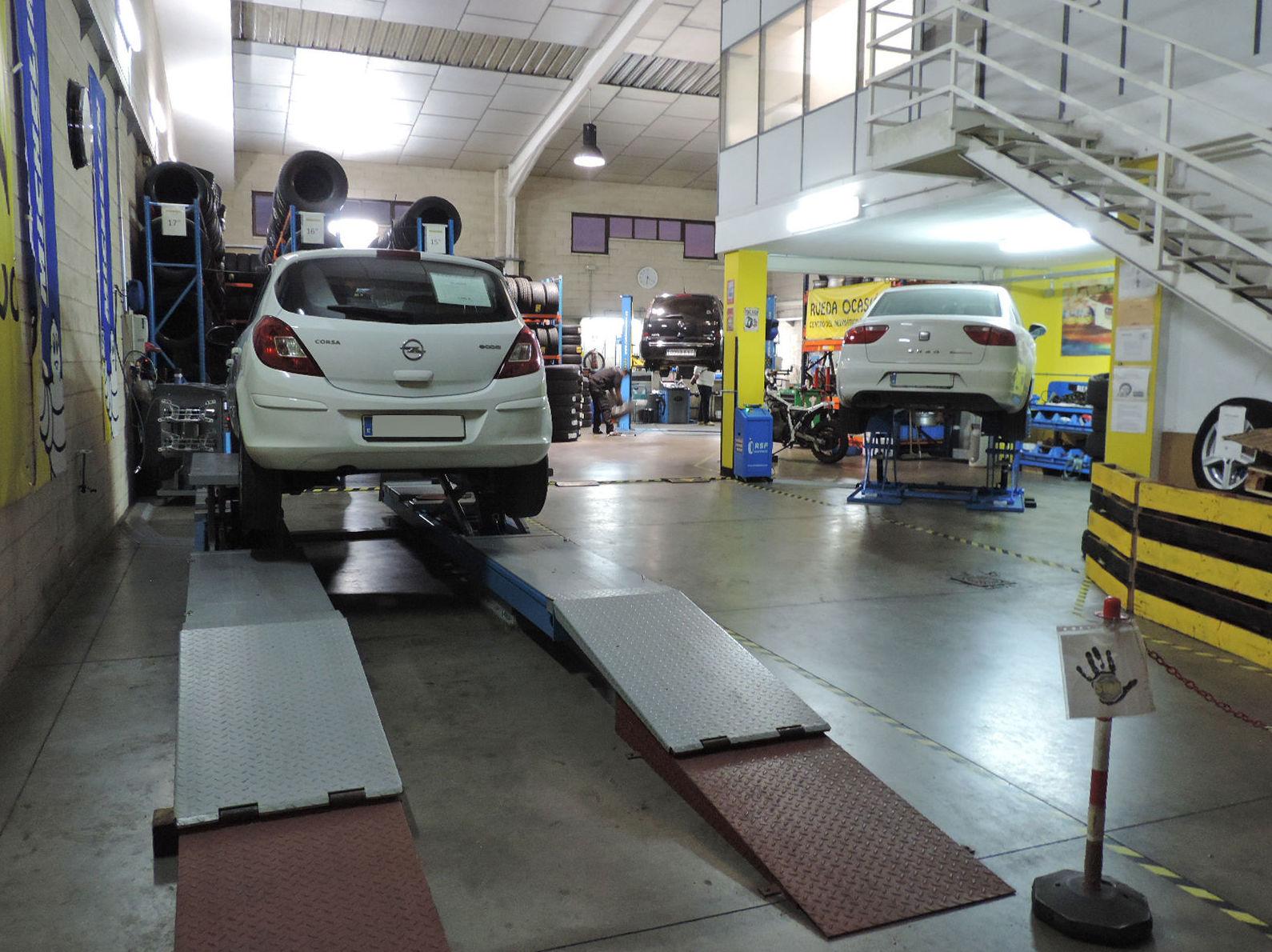 Taller de automóviles Rueda Ocasión en Colmenar Viejo Madrid