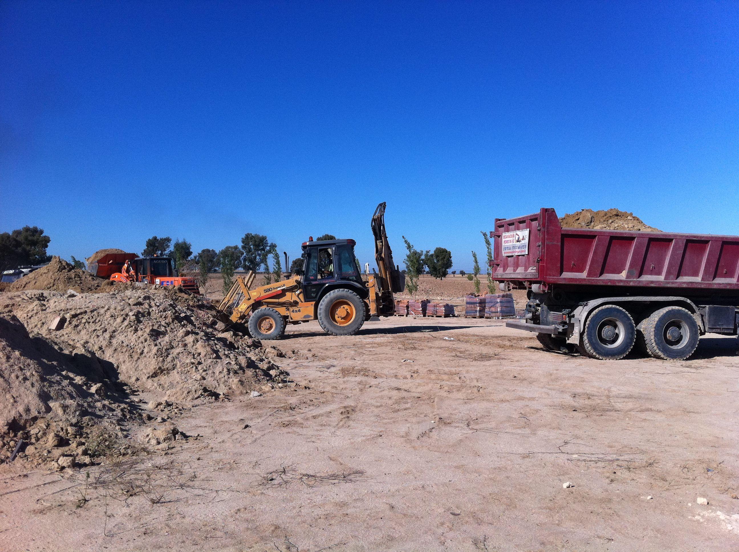 Foto 9 de Excavaciones en Polán | Excavaciones Pedro de Paz