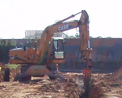 Zanjeos: Trabajos y Maquinaria de Excavaciones Pedro de Paz