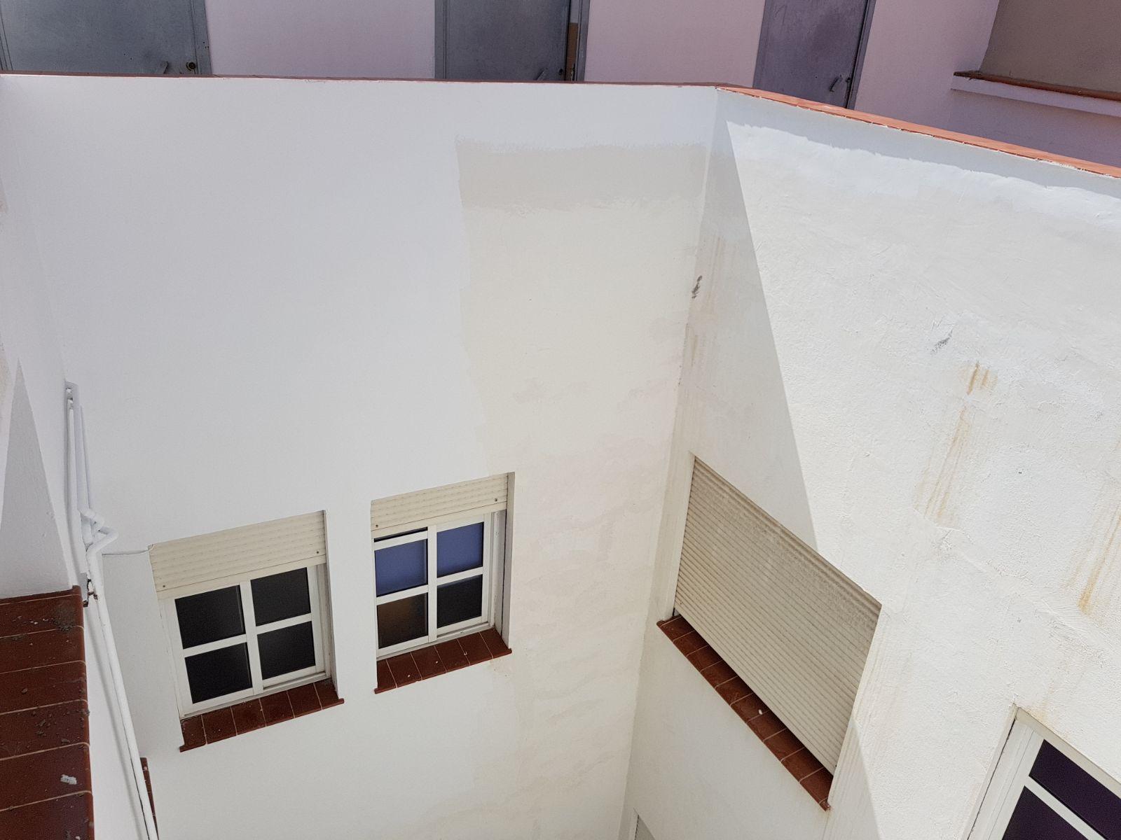 Rehabilitación de patios y fachadas en Tenerife