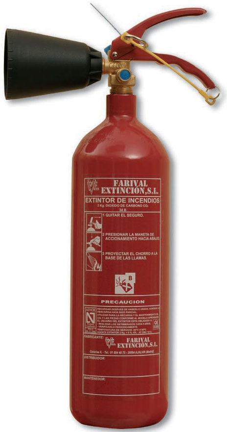 Foto 31 de Extintores y material contra incendios en Huelva | MV Protección