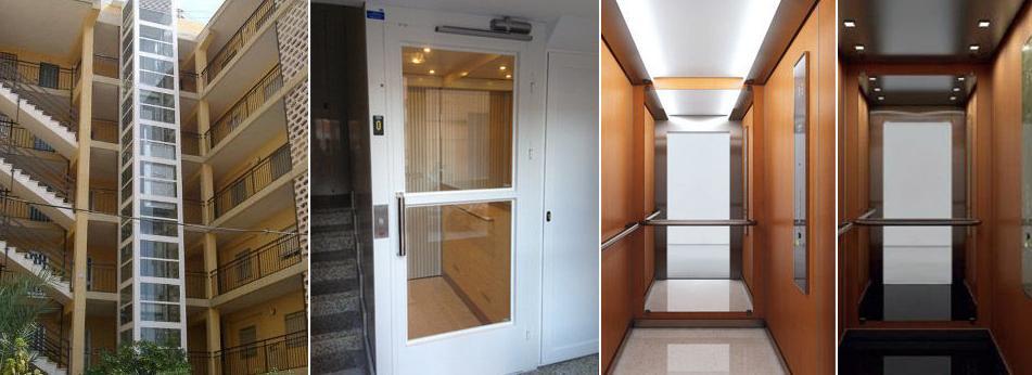Servicios de ascensores