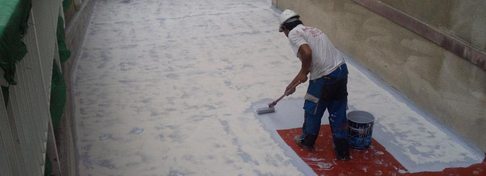 Servicio de impermeabilización de cubierta