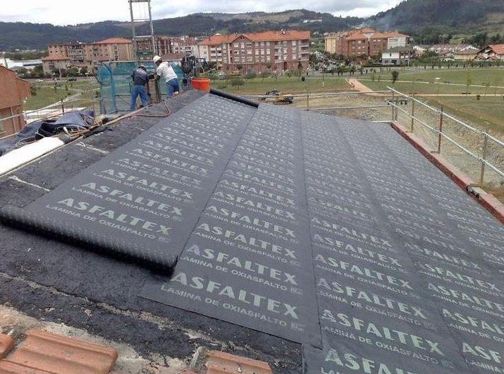 Reparación de tejados: Trabajos realizados de Impermungi, S.L.