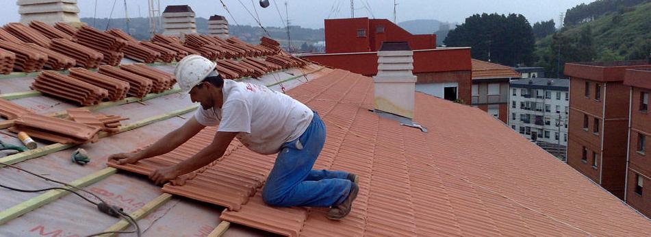 Profesionales de servicios de rehabilitación de tejados