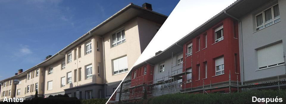 Reforma integral de fachadas