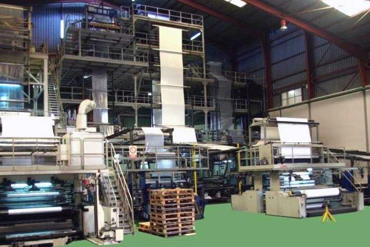 Fábrica de transformación de productos de plástico