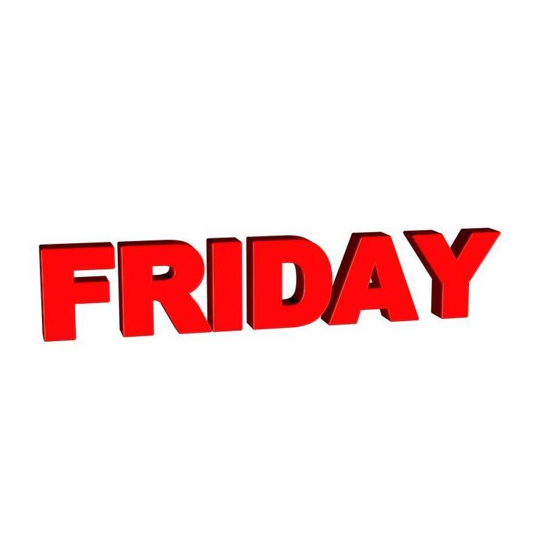 Cuando llega el viernes todo el mundo sabe lo que debe hacer……….
