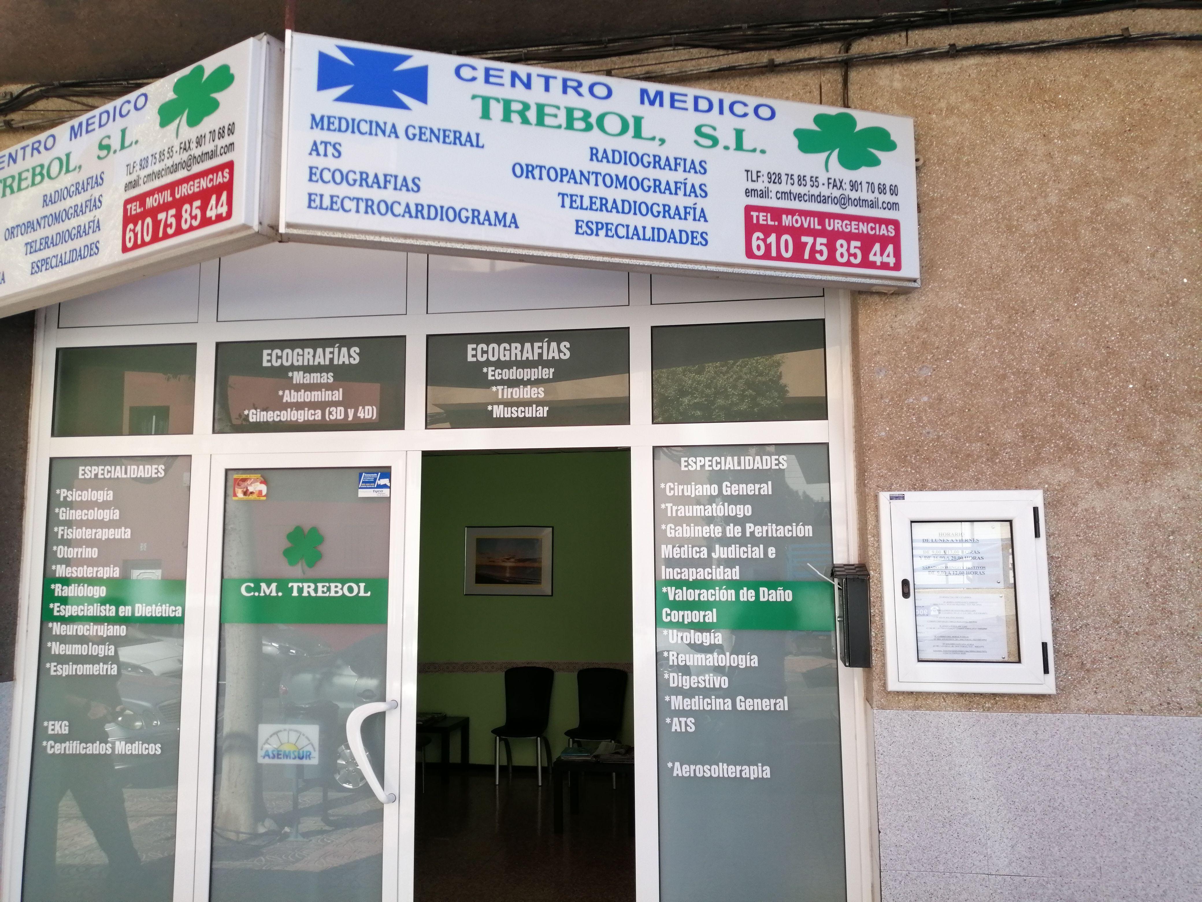 Foto 16 de Centros médicos en Santa Lucía de Tirajana | Centro Médico Trébol