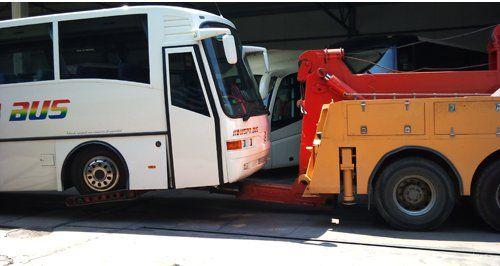 Grúas especiales para autobuses y otros en Hospitalet de Llobregat