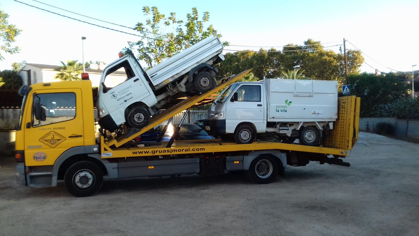 Grúas para vehículos Hospitalet