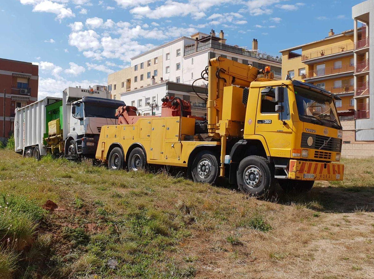Grúas para camiones j moral