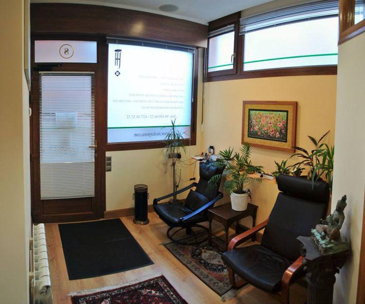 Sala de espera de nuestro centro en Getxo