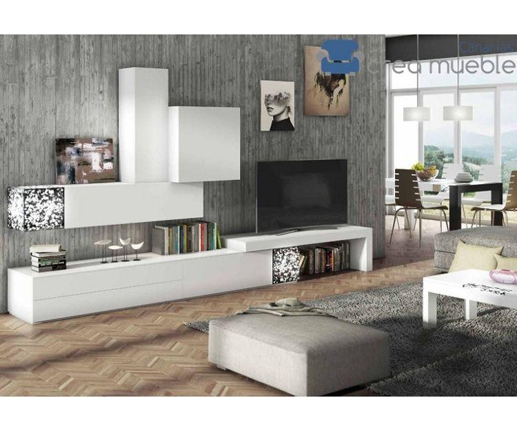 Mueble de salón serie Ortus